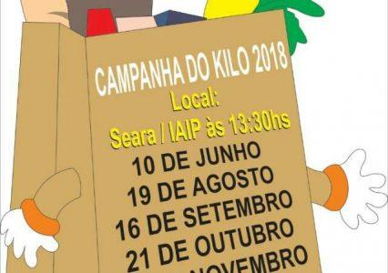 Agenda Campanha do Kilo 2018