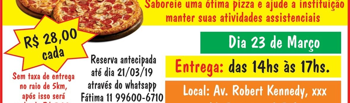 Pizza Beneficente 2019