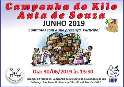 Campanha do Kilo – JUNHO 2019