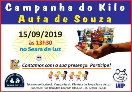 Campanha do Kilo – Setembro 2019
