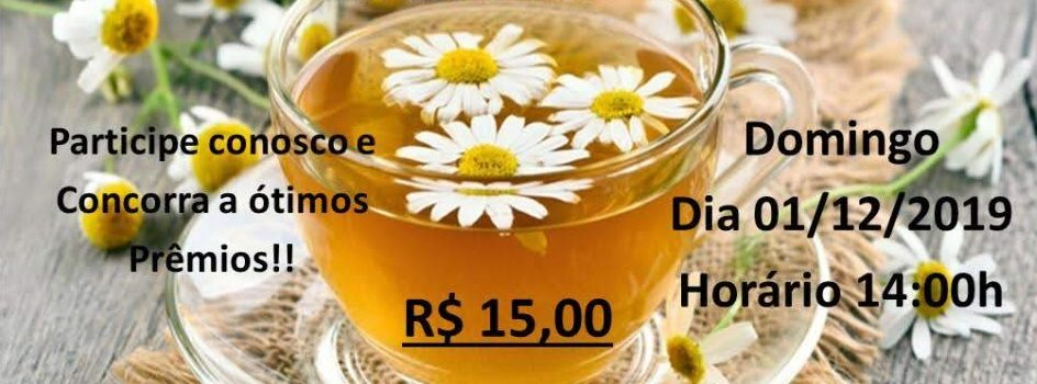 Chá Bazar Bingo Beneficente
