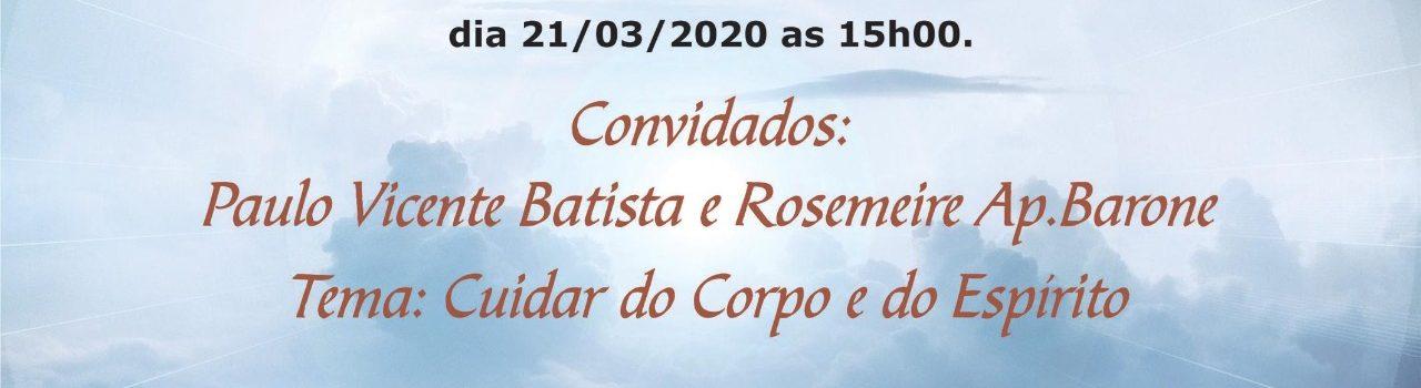 EVANGELHO AO VIVO – 21/03/2020